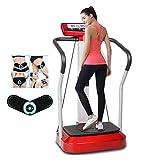 Plataforma Vibratoria Fitness 300W Pérdida De Peso Aeróbico De Pie Tubos De Acero, Sistema De Cuerda De Tracción Mantener Un Cuerpo