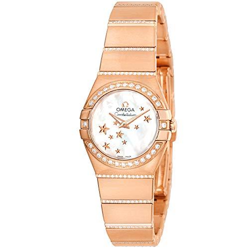 腕時計 OMEGA(オメガ) 123.55.24.60.05.004 ホワイトパール文字盤 レディース [並行輸入品]