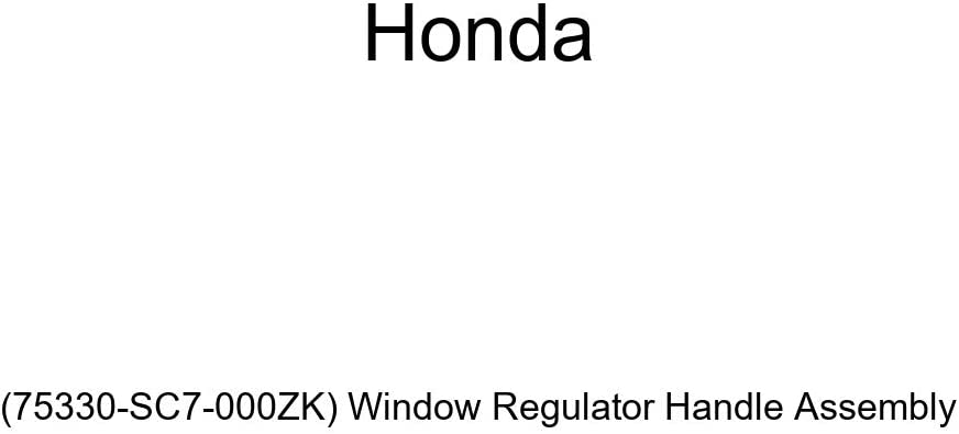 Genuine Honda High quality new 75330-SC7-000ZK Window Surprise price Assembly Regulator Handle