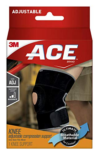 ACE Adjustable Knee Support, One Size Fits Most (545813)