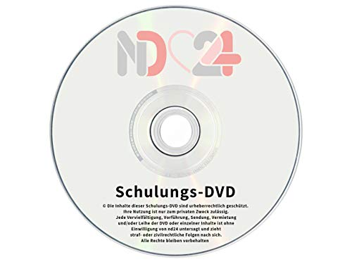 Nageldesign SCHULUNGS-DVD für Anfänger - GEL-MODELLAGE, FRENCH NAILS, SCHABLONEN TECHNIK & NAIL ART - Lern Video mit Step by Step Anleitung für UV Gelnägel Nagelgel Naildesign