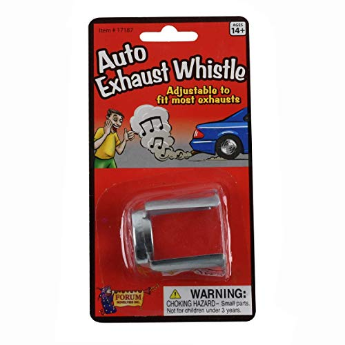 TG,LLC Treasure Gurus Novelty Prank Car Exhaust Whistle Tail Pipe Sound Funny Joke Auto Muffler Gag