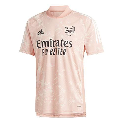 adidas Arsenal FC Ultimate Training Jersey, Maglia da Allenamento. Uomo, Chalk Coral S18/light Arancione Fluo, XXL