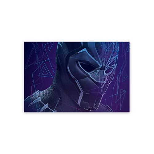 Ionia Anime Poster,Black Panther Wakanda Forever Chadwick Boseman(41),3D Print Wall Art for Living Room,Bedroom,College Dorm Home Decorations Giclee Oil Paintings,16x24 inch Self-Adhesive