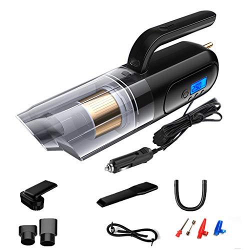 SACYSAC Vacuum Cleaner Coche, 5000PA Potente Carga inalámbrica Aspirador del Coche, usada para el Coche húmedos y Secos Aspiradora,Negro