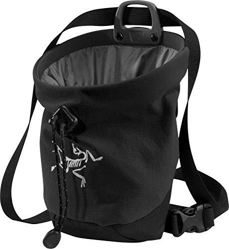 Arcteryx Erwachsene Chalk Bag C40 Kreidetasche, Black, M