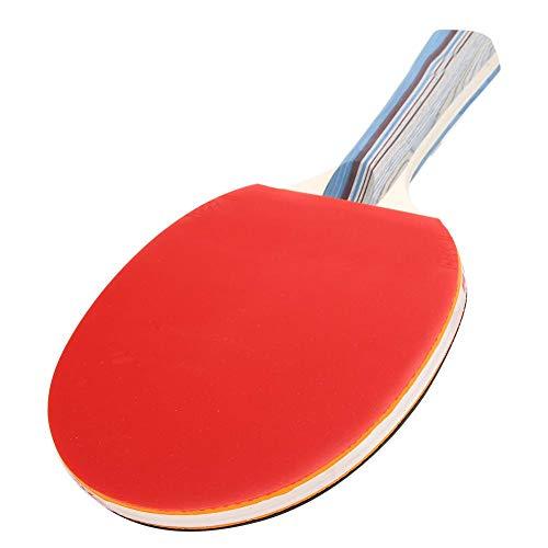 Raquete de tênis de mesa, com saco de armazenamento Pong Paddle Training, para adultos e crianças, prática e jogo casual(Long handle)