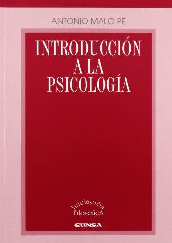 Introducción a la psicología (Iniciación filosófica) (Spanish Edition)