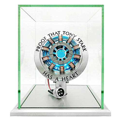 BSTEle Iron Man Reactor Chest Light 1: 1 Iron Man ARC Reactor...