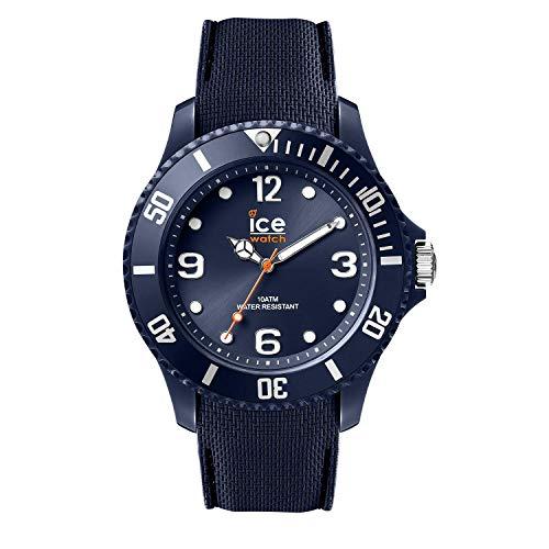 Ice-Watch - ICE sixty nine Dark blue - Blaue Herrenuhr mit Silikonarmband - 007266 (Large)