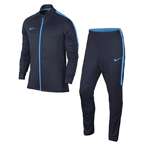 NIKE M Nk Dry Acdmy TRK Suit K Chándal, Hombre, Obsidian/Blue Hero, S