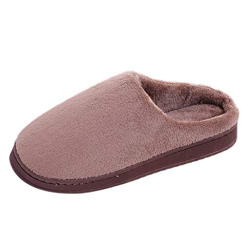 Zapatillas Casa Mujer Elegante calentito Ultraligero cómodo y Antideslizante Pantuflas de casa para Mujer Zapatillas de casa Suaves de Felpa cálidas Zapatos de Dormitorio para Interiores