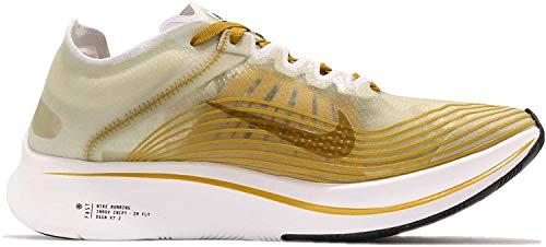 Nike Men's Zoom Fly Sp Low-Top Sneakers, Multicolour (Black/Light Bone/White 001), 8 UK