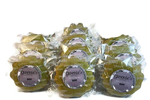 Gwenie's Pastries Mamon (Pandan, 10 Pieces) Sponge Cake, Gourmet Holiday Gift for men or women
