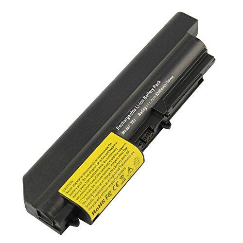 ARyee 5200mAh 11.1V T400 Batterie Laptop Akku Ersatz für Lenovo ThinkPad R400 7443, R61 7732 7733 7734 7735 7736 7737 7738 7742 7743 7744 7751 7753 7754