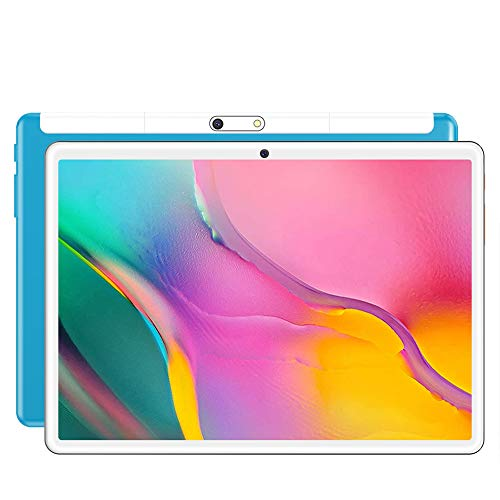 S10 Tablet, Android 8.0 Pie Tablet 10.1 inch,1280 * 800 HD IPS Screen,3G Phone Call Phablet PC,Quad-core/ Dual Cameras/HDMI/ Bluetooth/WiFi,portable entertainment (Blue)