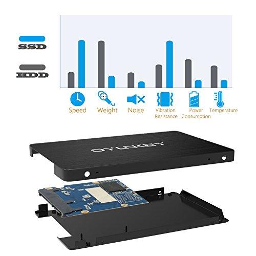 OYUNKEY 3D NAND SSD 240GB 2.5 pulgadas SATA III Disco duro sólido ...