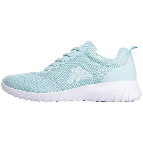 Kappa Damen CES NC Sneakers, Mint, 40 EU