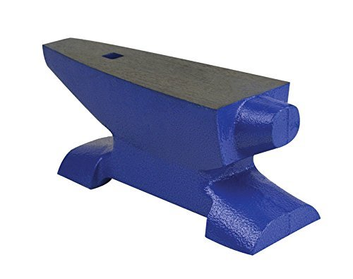 PMC Supplies LLC 15 Lb Bench Horn Anvil (All-Purpose) Jewelry Making Forming Flattening Metal Repair Metalsmith Goldsmith Blacksmith Work Surface
