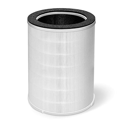 Kokofit H13 Air Purifier Replacement Filter - True HEPA and Activated Carbon Filters for Allergies, Pets, Smoke and Dust Large Room