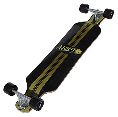 powerful Longboard Atom Drop Deck (39 inches)