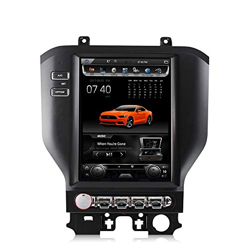 Best Deals! Android 8.1 GPS NAVI in-Dash Head Unit for Ford Mustang 2015-2016 10.4inch Telsa Style V...