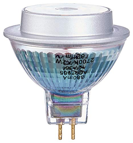 Osram Lampadina Led Star Full Glass Mr16 36° Gu5.3 Bli, Vetro, Chiara, 50 W, a riflettore