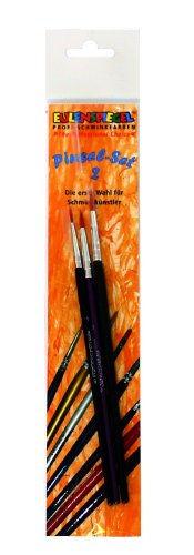 Eulenspiegel Profi-Schminkfarben GmbH Professional Make-up Brush Set II Brosses