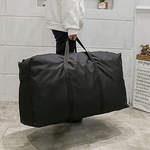ZCPCS. Borsa per Bagagli Pieghevoli Unisex Big capacità Borsone Oxford Casual Handbag Abbigliamento Abbigliamento Viaggi Spostare Sacchetti di stoccaggio Chiusura con Cerniera Chiusura con Cerniera