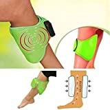 Density Collection Professional Foot/Leg and Hand Massager Blood Circulation Machine Belt for Pain Relief (Green)