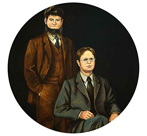 The Office Show Dwight and Mose Sticker Phone Case Laptop Bumper Decal