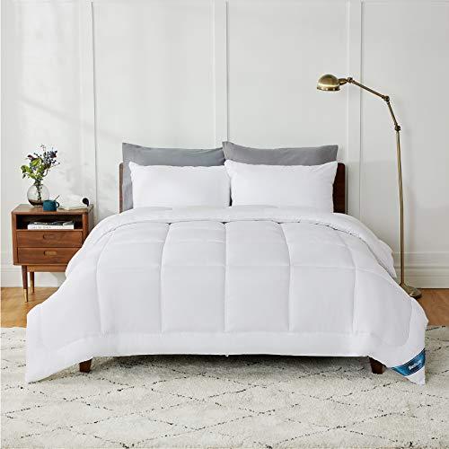 BEDSURE Ganzjahresdecke Bettdecke 240x220 cm 300GSM, Oeko-Test Zertifiziert für Allergiker geeignet, Super Weiche Atmungsaktive Steppdecke Schlafdecke