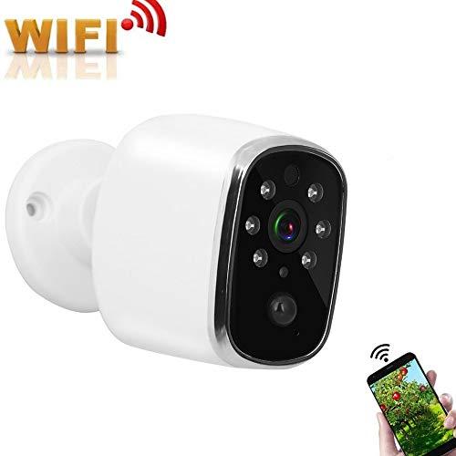 Beveiligingscamera, WIFI mini draadloos laag verbruik binnen / buiten bewakingscamera netwerk nachtzicht webcam voor thuis / kantoor / baby / oppas / dier