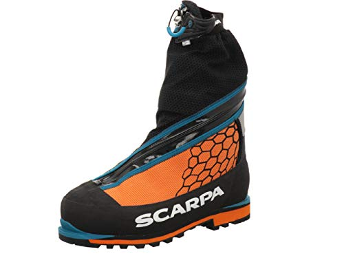 Scarpa Phantom 6000 Schuhe, Black-Bright orange, 44