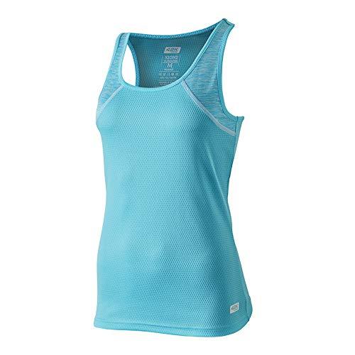 42K RUNNING - Camiseta técnica Tirantes 42K XION2 Summer para Mujer BlueRiver