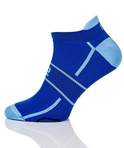 Prosske LF-1 Chaussettes de sport respirantes pour homme et femme Plusieurs couleurs disponibles Jaune Taille 44-46
