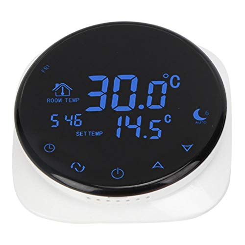 Shipenophy Suministros domésticos Controlador de Temperatura Termostato eléctrico programable Calefacción Profesional con WiFi para calefacción eléctrica por Suelo
