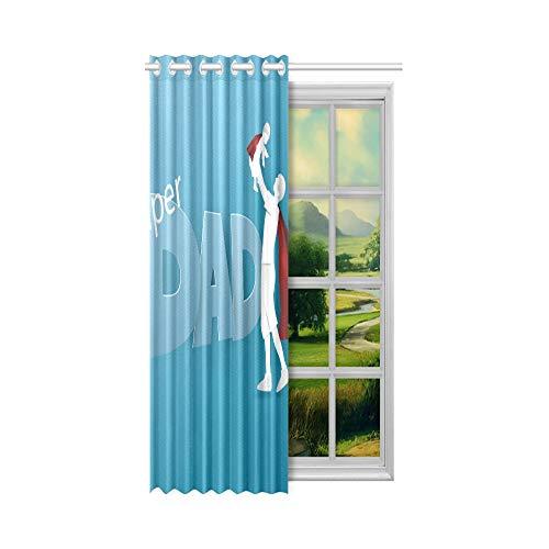 Amerikanische Fenstervorhänge Gesundes Essen Grünes Gemüse Baby-Verdunkelungsvorhänge 132 x 160 cm (52 x 63 Zoll) 1-Panel-Verdunkelungsvorhang für Schlafzimmer im Wohnzimmer