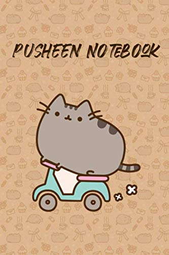 Pusheen Notebook: Journal, (6x9 Inches - 15.24x22.86 cm), 120 Pages, Lined Pages