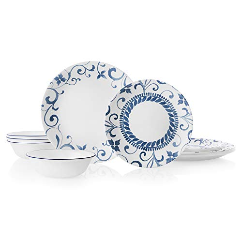Corelle 12-Piece Dinnerware Set Service for 4