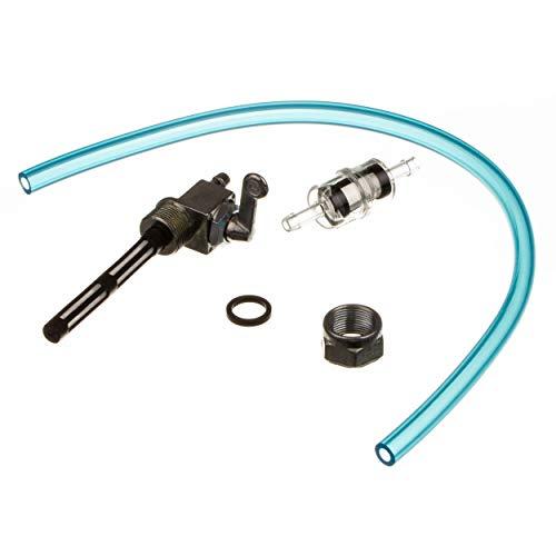 MZA Meyer-Zweiradtechnik 60151.0 Set Kraftstoffhahn - Inklusiv Benzinschlauch, Benzinfilter - S50, S51, S53, S70, S83