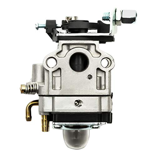 11mm Carburador Carb Recambio Motor Cobertura Recorte 2 Tiempos Cortador Cepillo Motosierra Carburador Compatible Para 22cc 26cc 33cc 34cc 36cc