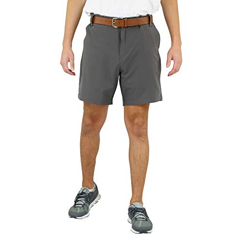 Mossy Oak Golf Shorts for Men, Dry Fit, Mens Stretch Golf Shorts Charcoal
