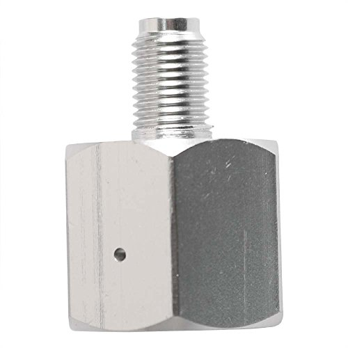 Interstate Pneumatics WRCO2-320-38 In CO2 Paintball (G1/2-14) Tank to Out Co2 Disposable (3/8-24 UNF) Mini Tank Adapter