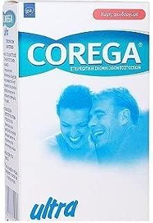 Corega Denture Adhensive Powder formulation Zinc Free Ultra effect