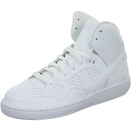 Nike Son of Force Mid GS Hi Top Trainers 615158 Sneakers Shoes (UK 3 US 3.5Y EU 35.5, Black Black 021)