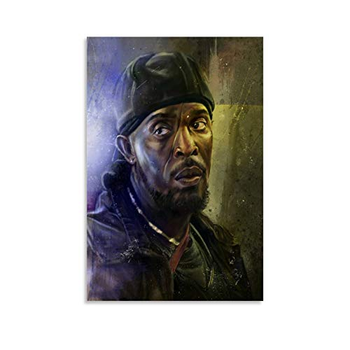GKJF Omar The Wire Art Poster Poster Decorative Painting Canvas Wall Art Living Room Posters Bedroom Painting 08x12inch(20x30cm)