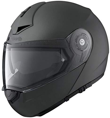 SCHUBERTH C3 Pro Matt Anthracite Motorradhelm, Farbe Anthracite, Größe M (56/57)