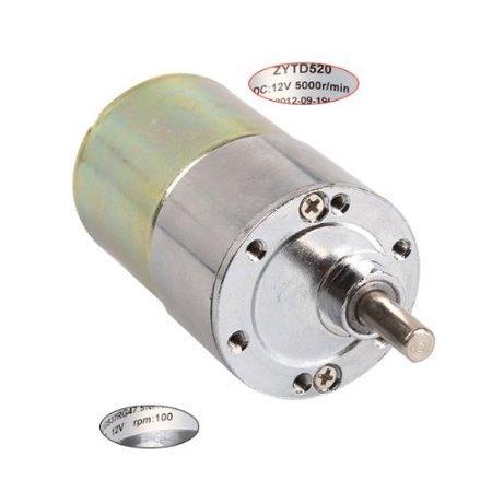DN 12V DC High Torque 100 RPM Gear-Box 5000R Sostituzione del motore elettrico/min