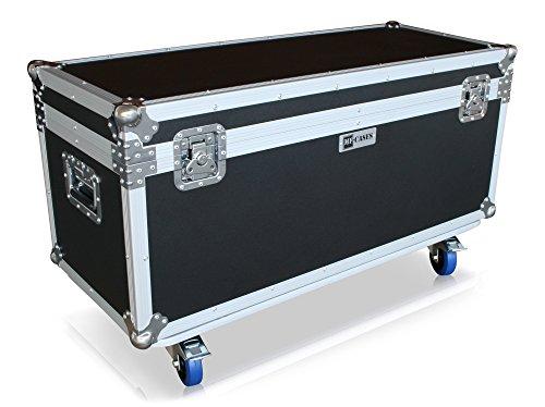 Transporte Case 100cm x 40cm Con Ruedas flicase Case baúl